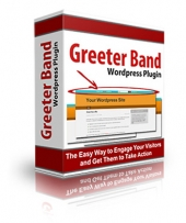 Thumbnail Greeter Band Wordpress Plugin - With Personal Use Rights