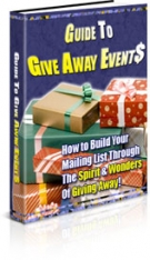 Thumbnail Guide To Give Away Events With Private Label Rights