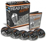 Thumbnail Head Start Audios - With Master Resale Rights