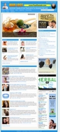 Thumbnail Hairloss Website - With Private Label Rights