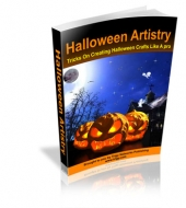 Thumbnail Halloween Artistry With Master Resale Rights