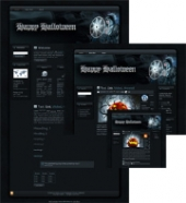 Thumbnail Halloween Sorceress WP Theme - With Master Resale Rights
