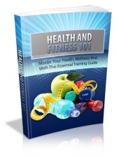 Thumbnail Health And Fitness 101 - With Master Resell Rights
