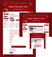 Thumbnail Hearts-N-Roses - WP Theme With Master Resale Rights