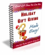 Thumbnail Holiday Gift Giving Made Easy! - With Master Resale Rights