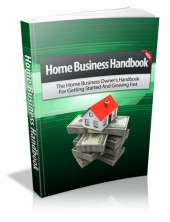 Thumbnail Home Business Handbook - With Master Resell Rights