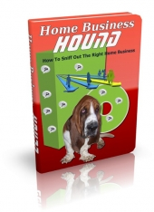 Thumbnail Home Business Hound - With Master Resell Rights