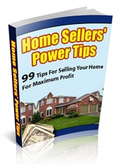 Thumbnail Home Sellers' Power Tips - With Private Label Rights