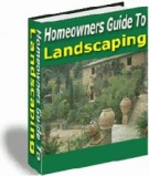 Thumbnail Homeowners Guide To Landscaping - With Resell Rights
