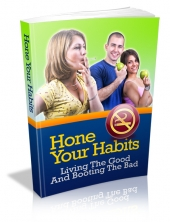 Thumbnail Hone Your Habits - With Master Resell Rights