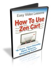 Thumbnail How To Use Zen Cart - With Personal Use Rights
