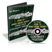 Thumbnail How To Make More Money From Your Continuity Program - With Master Resale Rights