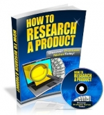 Thumbnail How To Research A Product With Master Resale Rights