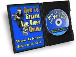 Thumbnail How To Stream Live Video Online - With Master Resale Rights