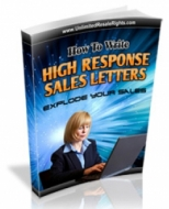 Thumbnail How To Write High Response Sales Letters - With Master Resale Rights