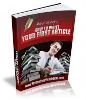 Thumbnail How To Write Your First Article - With Master Resale Rights