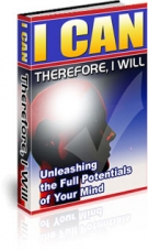 Thumbnail I Can : Therefore, I Will - With Private Label Rights & Private Label Rights & Mast