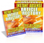 Thumbnail Instant Adsense Article Directory - With Resell Rights