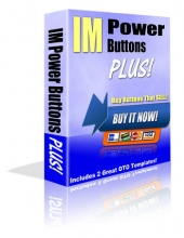 Thumbnail IM Power Buttons Plus! - With Private Label Rights