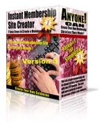 Thumbnail Instant Membership Site Creator - With Master Resale Rights