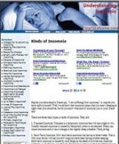 Thumbnail Insomnia Website - With Private Label Rights