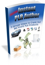 Thumbnail Instant PLR Author - With Private Label Rights