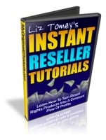 Thumbnail Instant Reseller Tutorials - With Master Resale Rights