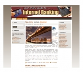 Thumbnail Internet Banking Templates - With Private Label Rights