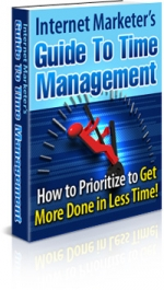 Thumbnail Internet Marketer's Guide To Time Management - With Master Resale Rights