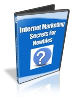 Thumbnail Internet Marketing Secrets For Newbies - With Master Resale Rights