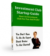 Thumbnail Investment Club Startup Guide - With Private Label Rights