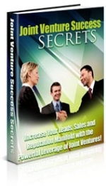 Thumbnail Joint Venture Success Secrets With Master Resale Rights