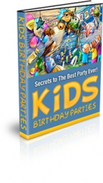 Thumbnail Kids Birthday Parties - With Private Label Rights