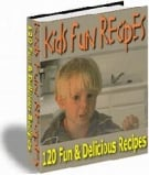Thumbnail Kids Fun Recipes - With Resell Rights