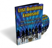 Thumbnail List Building Exposed - With Private Label Rights