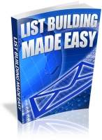 Thumbnail List Building Made Easy - With Resale Rights