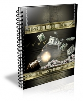 Thumbnail List Building Quick Tips - With Private Label Rights