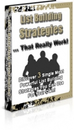 Thumbnail List Building Strategies That Really Work - With Private Label Rights
