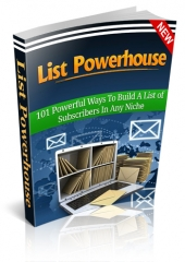 Thumbnail List Powerhouse - With Master Resell Rights