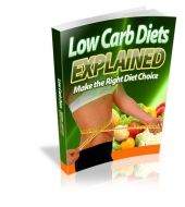 Thumbnail Low Carb Diets Explained - With Master Resale Rights