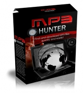 Thumbnail MP3 Hunter - With Master Resell Rights