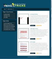 Thumbnail Magic Tricks Review Site - With Private Label Rights
