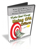 Thumbnail Make Good Money Using CPA Offers