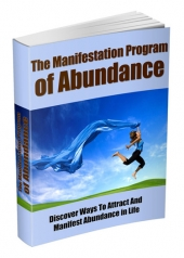 Thumbnail The Manifestation Program Of Abundance - With Master Resell Rights