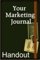 Thumbnail Your Marketing Journal Teleseminar Handout - With Giveaway Rights