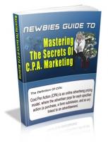Thumbnail Newbies Guide To Mastering The Secrets Of C.P.A. Marketing - With Master Resale Rights