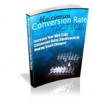 Thumbnail Maximum Conversion Rate Tactics - With Resell Rights