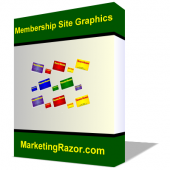 Thumbnail Membership Site Graphics Pack - With Master Resell Rights