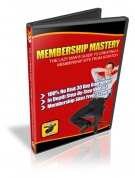 Thumbnail MEMBERSHIP MASTERY - With Master Resale Rights