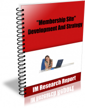 Thumbnail Membership Site Development And Strategy - With Master Resell Rights